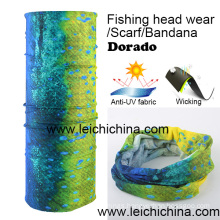 Anti-UV Wicking Dorado Fishing Headwear Scarf Bandana