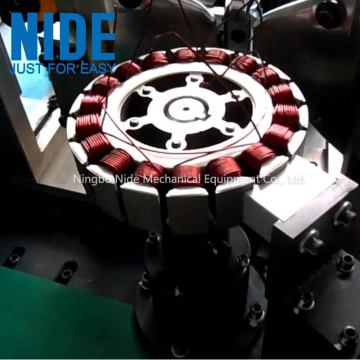 Wheel motor segway scooter winding machine
