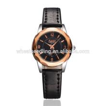 Alibaba taobao retro ouro rosa relógios relógio de mão mais recente para a menina