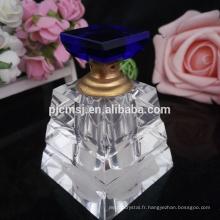 bouteilles de beauté élégant parfum diffuseur k9 cristal 50 ml 100 ml bouteilles de parfum
