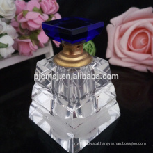 wholesale empty refillable glass crystal spray atomizer pump perfume bottle