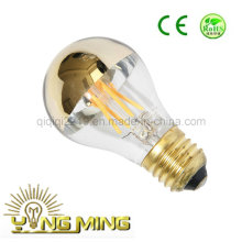 6.5W A60 Gold Mirror E27 220V LED Light Bulb