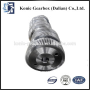 Wind turbine helical gear transmission gearbox parts