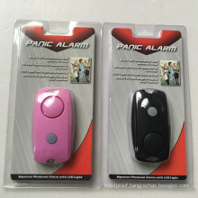 Hot Sale Chain Personal Alarm with Flashlight