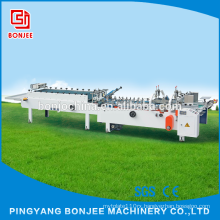 Bonjee Cheap Price Automatic Disposable Chips Box/cardboard box Gluing Machine