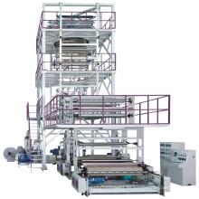 Máquina de soplado caliente de la película de la coextrusión de la venta