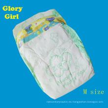 Transpirable súper suave día uso fabricantes de pañales bebé soñoliento de china