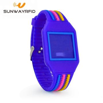 Colorful Silicone 125khz Bracelet RFID Wristband