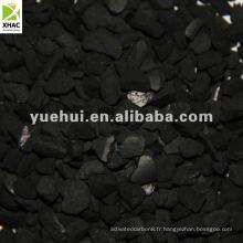 Carbone activé granulaire pour la récupération de l'essence