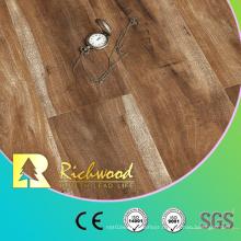 Vinyl Plank 12.3mm E1 Parquet Hand Scraped U-Grooved Laminate Wood Flooring