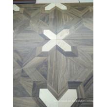 Pincel de parquet lujoso de gama alta Suelo de madera reconstituida