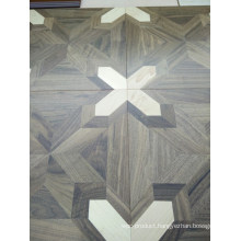 Luxurious High-End Parquet Brush Engineered Wood Flooring