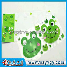 Fashion sticker for decoration, New custom PVC sticker