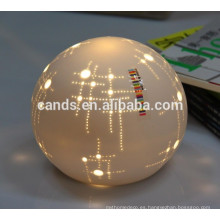 lámpara de mesa de noche decorativa ahorro de energía