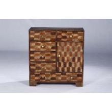 Cofre de gaveta de madeira reciclado antigo de alta qualidade