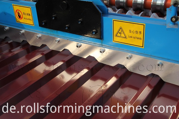 Roof panel roll forming machine (6)