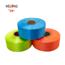GRS FDY RPET Polyester Fabric Yarn Bright Colored Recycle Polyester Filament Weaving Yarn