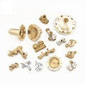 Custom Valve Fittings Brass Parts