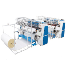 Automatic Industrial More Heads Ultrasound Nonwoven Fabric Leather Quilting Machine