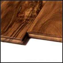Plancher de bois franc d'acacia de qualité d'ABC / plancher de parquet
