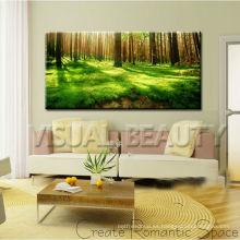 La pintura al óleo al por mayor del paisaje de la pintura del paisaje imprime en arte de la pared de la lona