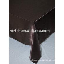 Mantel del satén, cubierta de tabla, lino de tabla del banquete/de la boda