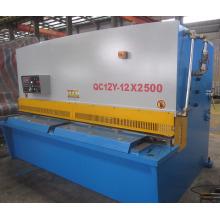 Máquina de corte hidráulica QC12y-12 X2500 para prancha de ferro