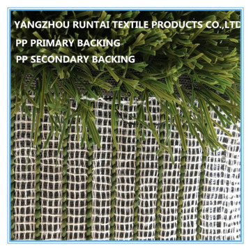 Polypropylene woven primary backing fabrics for football grass