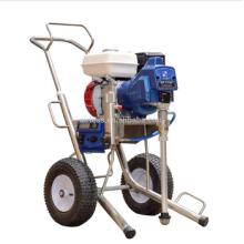 Potente motor de gasolina Power Airless pulverizador de pintura de la máquina