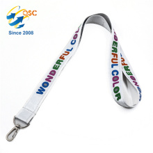 Any pantone color or CMYK color Printed Lanyards With Logo Custom