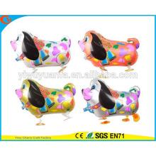 Fashionanle ходьбе животного воздушный шар игрушки воздушный шар фольги разноцветная собака для Christms подарков
