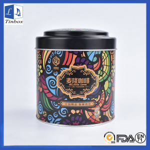 Custom Round Coffee Tin Cans Packaging