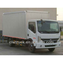 Venda quente 18000 litros dongfeng 4x2 furgão de carga