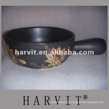 heatproof non-stick embossed cooking pot