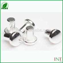 silver nickel rivets