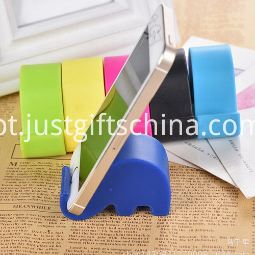 Promotional Cartoon Elephant Mobile Phone Stand _3