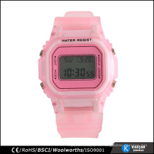 Edelstahl-Armbanduhr Edelstahl-Uhr wasserdicht für Sport 3ATM Nickel frei
