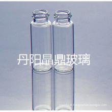 Série de alimentação de alta qualidade ferrou o frasco de vidro Tubular clara