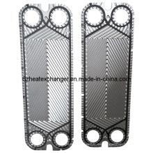 Placa de acero inoxidable para intercambiadores de calor (igual a P125)