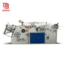 Bonjee high speed pizza box making machine 60-160 pcs per minute