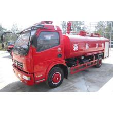 Camión de bomberos de agua filipino Duolika 6000liters de exportación