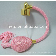 pink color perfume bulb atomizer