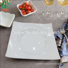 2015 new products bulk cheap plain ceramic plates