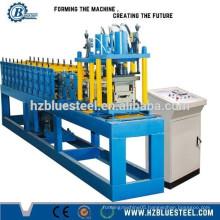 PU Foam Galavinized Steel Roller Shutter Lath Forming Machine For Sale , EPS Door Roller Shutter lath making machine