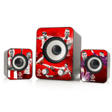 2015 new product hot-sale plastic speaker, 2.1 professional subwoofer speaker