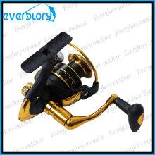 Schwarz und Gold Cheap Spinning Reel