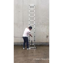 EN131-6 3.8m telescopic ladder soft close design