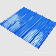 Telhas de telhado anticorrosivas plásticas do PVC ASA para a vila