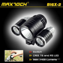 Maxtoch BI6X-2 vélos CREE LED vélo lampe de poche