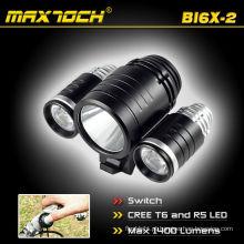 Maxtoch BI6X-2 bicicleta CREE LED Bike lanterna